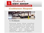 Richards Body Shop on North - Collision Repair Services