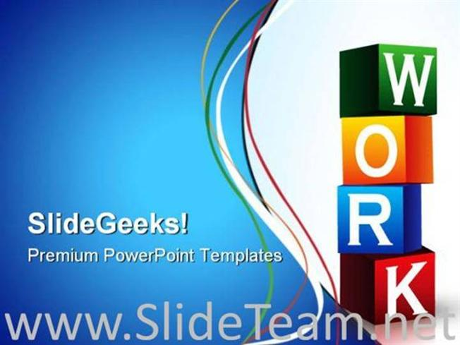 Work Blocks Business Powerpoint Templates And Powerpoint