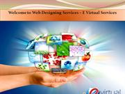 Affordable Web Designing Services – E Virtual Services