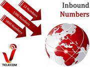 13 1300 and 1800 inbound numbers by vTelecom