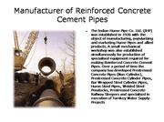 Manufacturer of Hume Steel Pipes