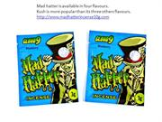 The most popular flavour of mad hatter herbal incense