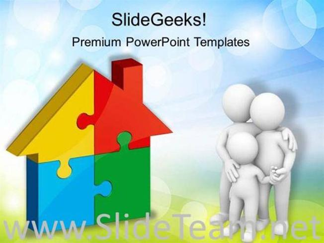 Home puzzle real estate powerpoint background powerpoint template related powerpoint templates toneelgroepblik Image collections