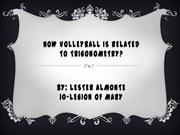 How Volleyball is related