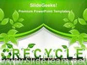 RECYCLE ENVIRONMENT POWERPOINT BACKGROUND