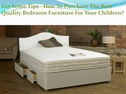 Best Bedroom Furniture