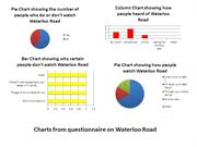 Questionnaire result charts
