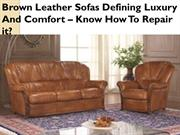 Best Brown Leather Sofas