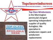 Windscreen Repairs Frankston