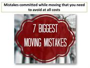 Moving Tips: Common Mistakes to Avoid while Relocating