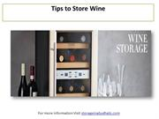 Wine Storage Ideas: Tips to Store Wine - Cheers