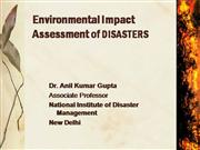Environmental Impact Assessment of DISAS