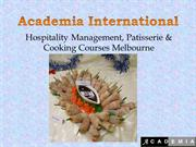 Commercial Cookery and Food Processing Courses