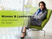 Women & Leadership PowerPoint Content