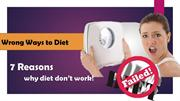 2. Wrong ways to diet
