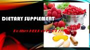 Dietary Supplement, is it HELP or HARM?