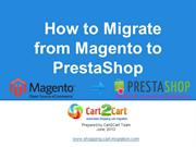 How to Migrate from Magento to PrestaShop