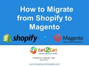 How to Migrate from Shopify to Magento