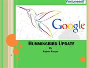 Humming bird update ppt