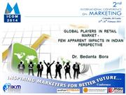 Global Players in Retail Market