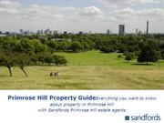 Primrose Hill Property Guide