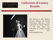 Luxurious Brands of Jewelry & Watches UAE