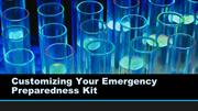 Customizing Your Emergency Preparedness Kit
