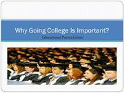 Why Going College Is Important