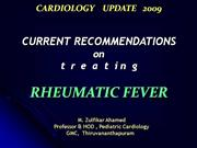 RHEUMATIC FEVER ; RECOMMENDATIONS 2009