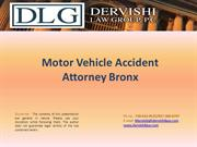Motor Vehicle accident Attorney Bronx