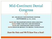 Mid-Continent Dental Congress
