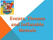 Events, Themes and Inflatable Rentals