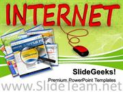 INTERNET CONNECTED TO COMPUTER POWERPOINT BACKGROUND
