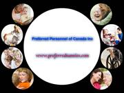Quality Edmonton nannies Services