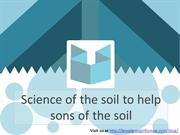 The Koyal Group Info Mag articles Science of the soil to help sons of