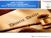 Things to Consider Before Hiring a Cheap Divorce Lawyers