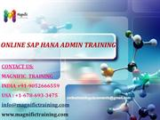 ONLINE SAP HANA ADMIN TRAINING