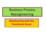 Unit 1 Functional areas of business and BPR