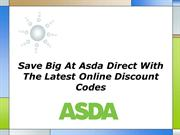 Save Big At Asda Direct With The Latest Online Discount Codes