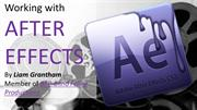 After Effects Research