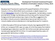 China Animation Industry-  Development Trend & Investment Prediction