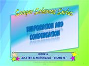 SOOPER SCIENCES SERIES GR 5 CAPS EVAPORATION AND CONDENSATION