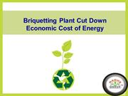 Biomass Briquetting Plant Cut Down Economic Cost of Energy