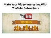 YouTube-Video-subscribers