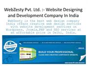 Website Designing and Web Development Company in India