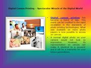 Digital Canvas Printing Generating Beautiful Canvas Arts