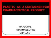 RAJGOPAL PLASTIC PPT ( WITH Q.C TEST)