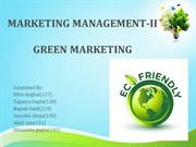 Group-2- Term paper PPT_green Marketing
