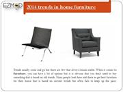 2014 trends in home furniture