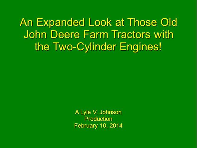 An Expanded Look at Those Old John Deere Tractors With Two Cylinde – John Deere 730 Engine Diagram